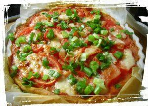 Tarte à la tomate et aux oignons maison recette monblabladefille.com
