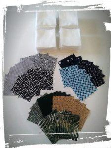 Photo ingrédients pour cotons démaquillants réutilisables monblabladefille.com