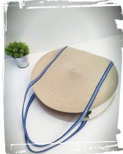 Faire un Calisté tendance rond rafiat set de table rond été cousu main handmade couture sac iris sezane monblabladefille.com