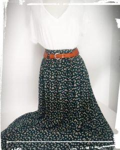 Photo patron de la jupe Zélie et notice de montage couture mespatronsdefille monblabladefille.com