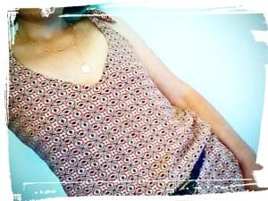 Robe de style bohème du même style que augusta de sezane diy hand made cousu main monblabladefille.com