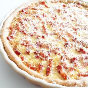 Photo tarte salée chou choucroute et lardon simple économique monblabladefille.com