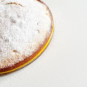 Photo recette gâteau ricotta citron simple aérien sud monblabladefille.com