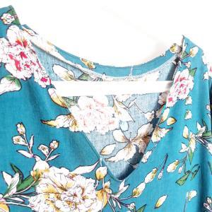 Photo patron de ma blouse hinata notice de montage couture top japonisant mespatronsdefille monblabladefille.com