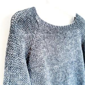point jersey, passion tricot, fait main, hand made, hand made wardrobe, tricot addict, knitters, knitting, laine, mode, fashion, tendance Lady Grey top down raglan mespatronsdefille monblabladefille.com