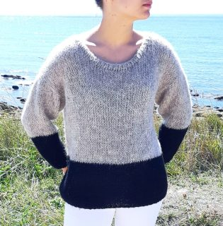 Pull Jules, #MONBLABLADEFILLE, laine alpaga et soie, DIY, FAIT MAIN, FASHION, FICHE EXPLICATIVE, HAND MADE, HAND MADE WARDROBE, KNITTERS, KNITTING, MESPATRONSDEFILLE, MODE, MONBLABLADEFILLE.COM, PASSION TRICOT, PATRON, POINT FANTAISIE, PULL, TENDANCE, TRICOT, TRICOT ADDICT, TUTO, TUTORIEL