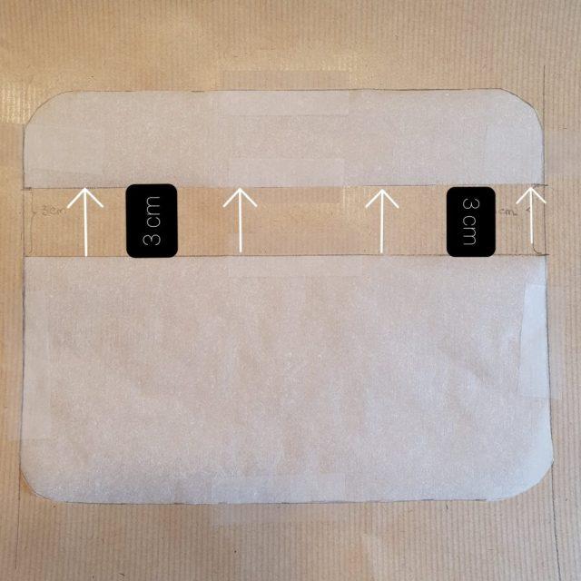 Patron du hack du  Sac Eugène avec modification de 3 cm tuto facile sew bag monblabladefille
