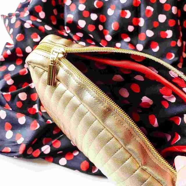 Photo du hack du sac Eugène en simili cuir doré pattern notice de montage couture tuto facile sew bag monblabladefille