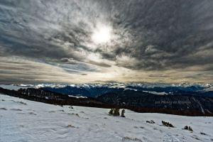 DSC_8668 - Nuages et lumières sur les Pyrénées