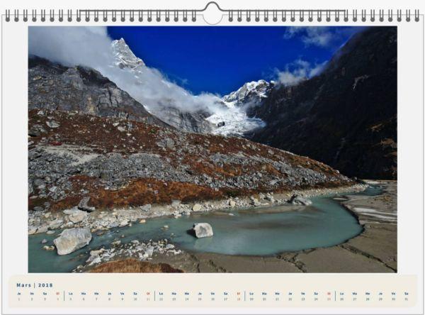 Mera Peak, Népal - 45x30 3