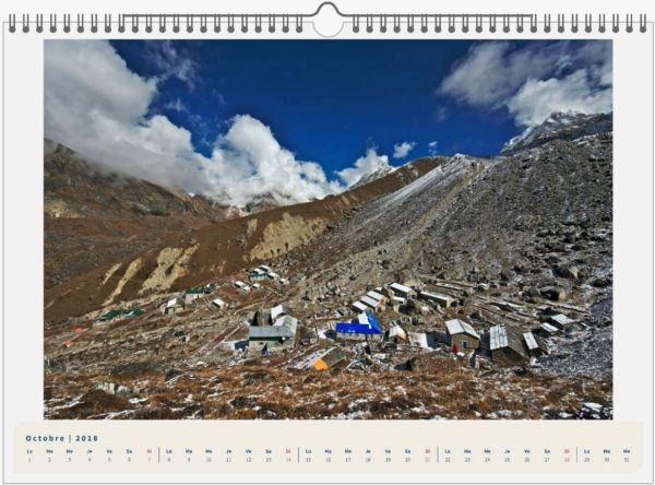 Mera Peak, Népal - 45x30 10