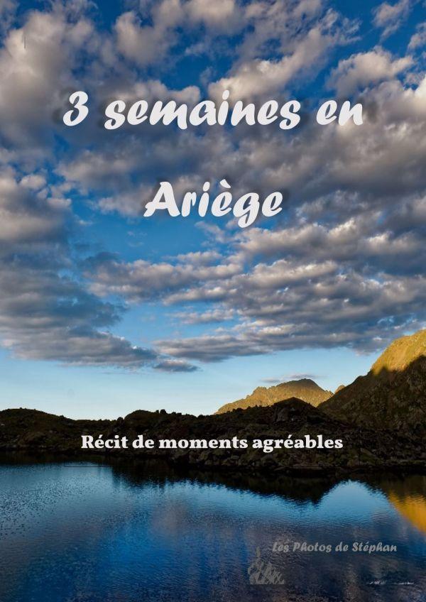 3 semaines en Ariège - couverture