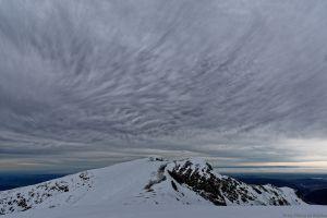 Nuages sur Mont Fourcat
