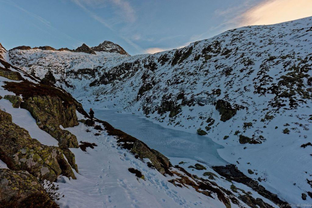 Etang de Milouga et Mont Valier