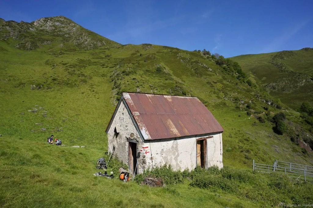 Cabane de Trapech du Milieu, sur le GR10