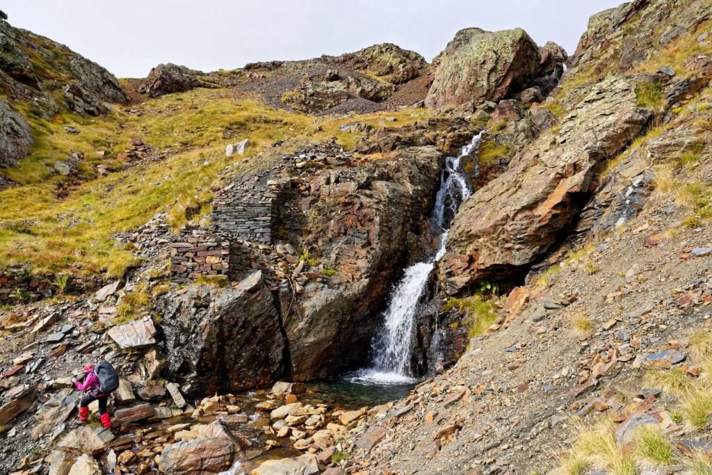 Très ancien passage pour les wagonnets aux mines d'Horcalh