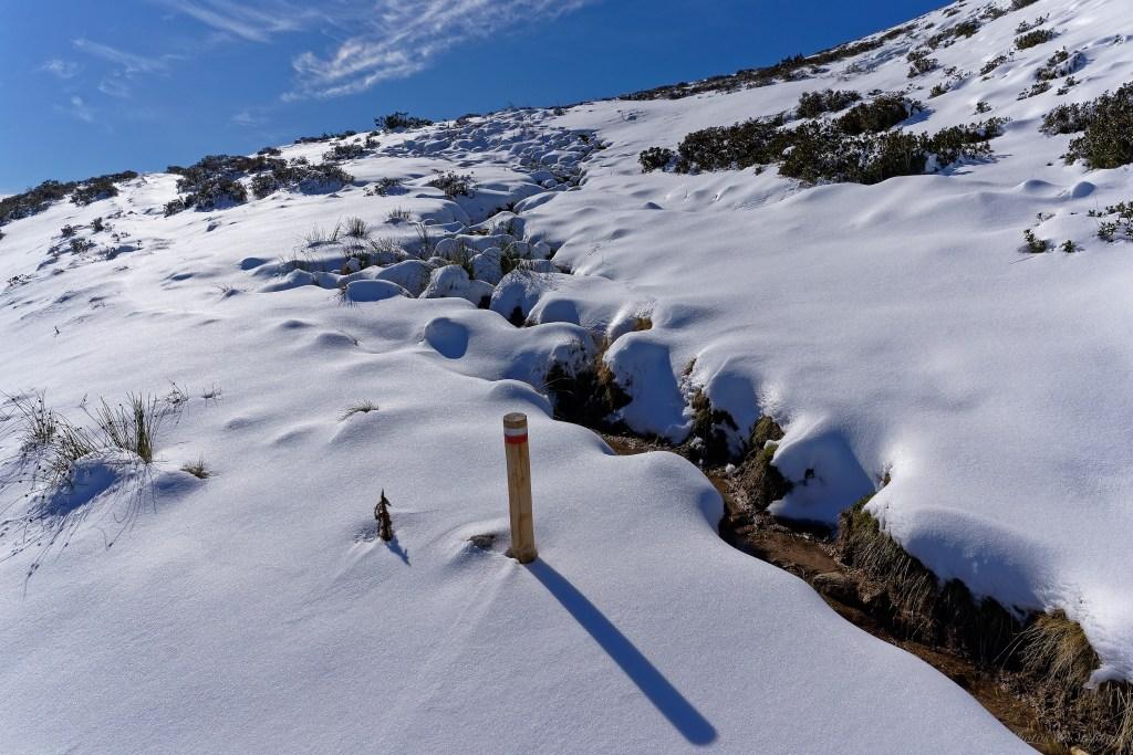 Le GR10 sous la neige