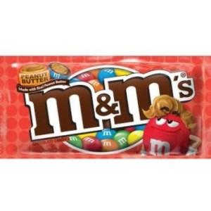 m&m's peanut butter produit américain