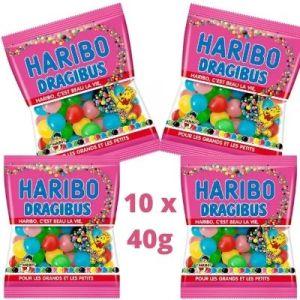 Dragibus Haribo 40g x10