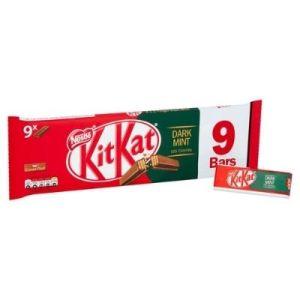 Kit Kat dark mint x9 - 186g