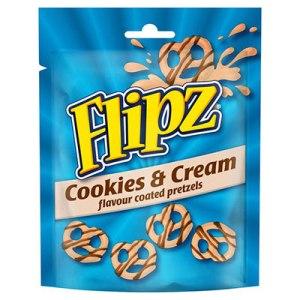 Flipz cookie and cream - 90g