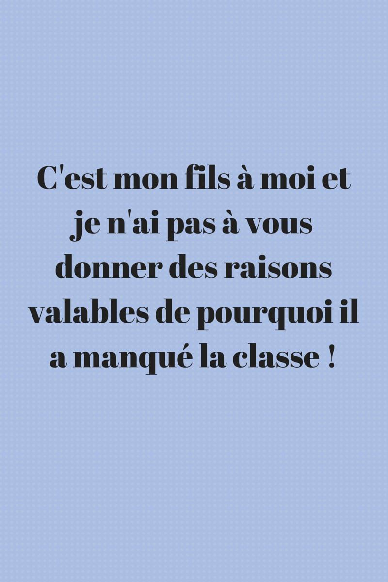 Mot D Excuse Pour L école : excuse, école, D'excuse, L'école, Cahier, D'écolier
