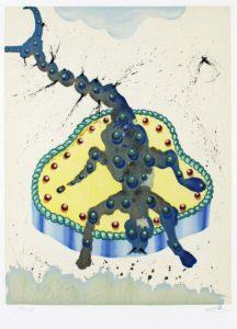 Salvador Dali ; ses peintures des signes du zodiaque : Symbole à la fois de résistance, de fermentation et de mort, de dynamisme, de dureté et de luttes (…) (sexe, anus, organes génitaux (analité)
