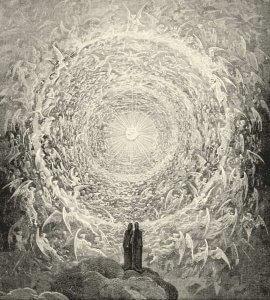 Dante un génie reconnu pour sa sagesse et pour avoir fait progresser l'humanité
