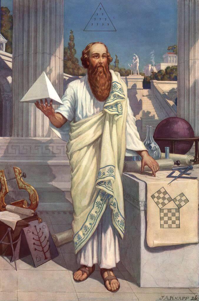 Sens de la sagesse,  Pythagore : le but de la vie