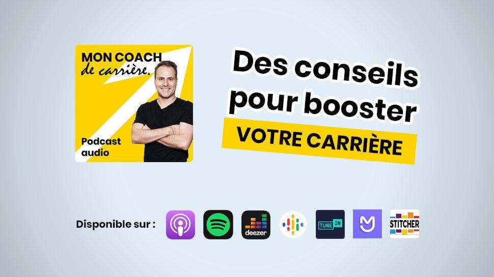 Podcast Mon coach de carrière