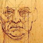 Leonard de Vinci - Visage