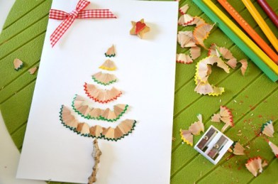 Carte-Sapin-Noel-epluchures-crayons-couleur