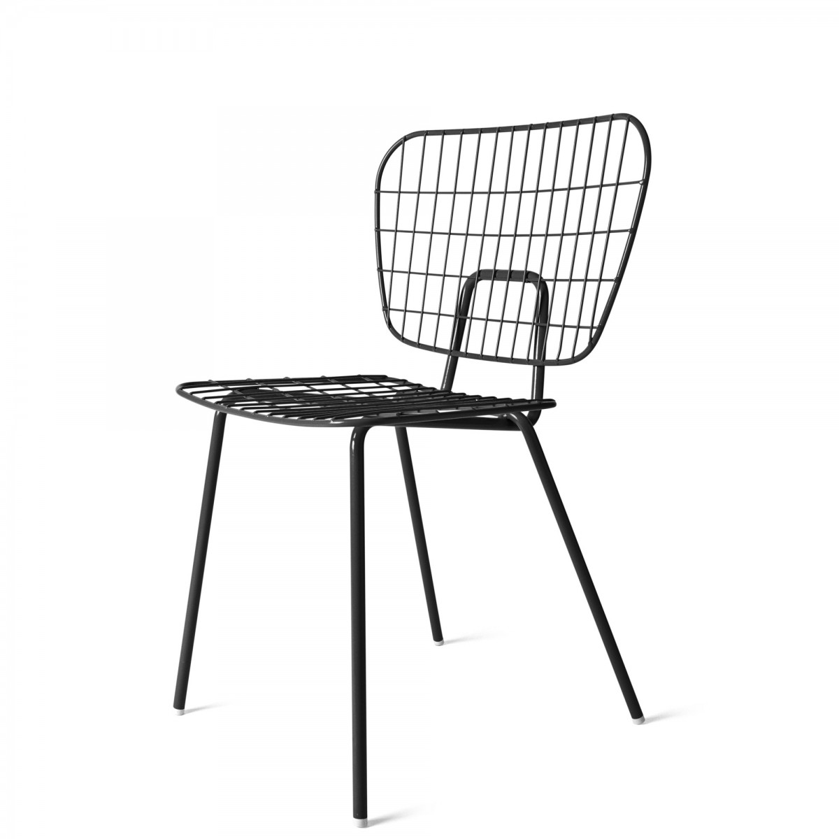 String Chair Wm String Chair In Powder Coated Steel Menu