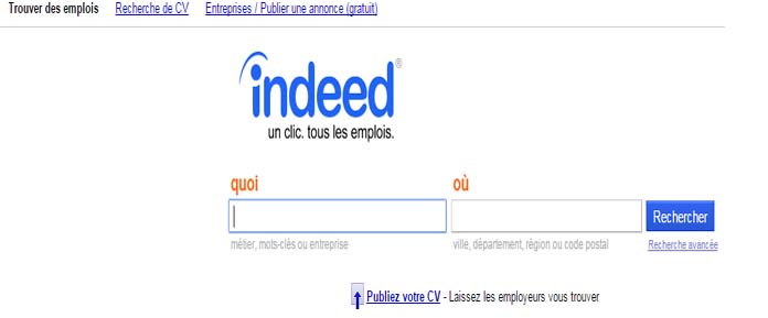 indeed comment envoyer un cv indeed