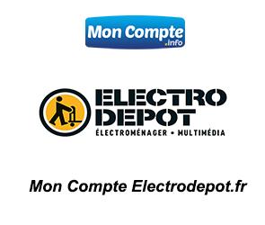 mon compte electro depot se connecter
