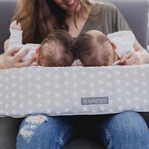 coussin allaitement jumeaux