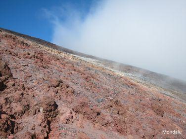 Montée du Mt Ngauruhoe
