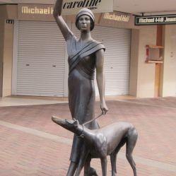Statue dans les rues de Napier