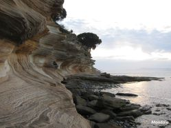 Painted Cliffs - Maria Island