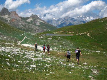 Descente du Mont Thabor