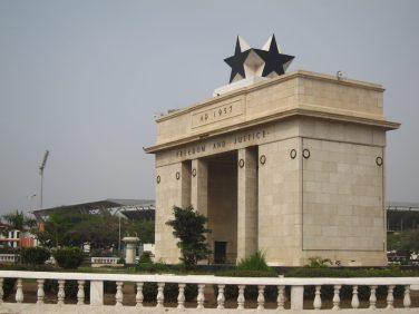 Arche de l'Indépendance, Accra, Ghana