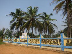 le long de la route des esclaves de Ouidah