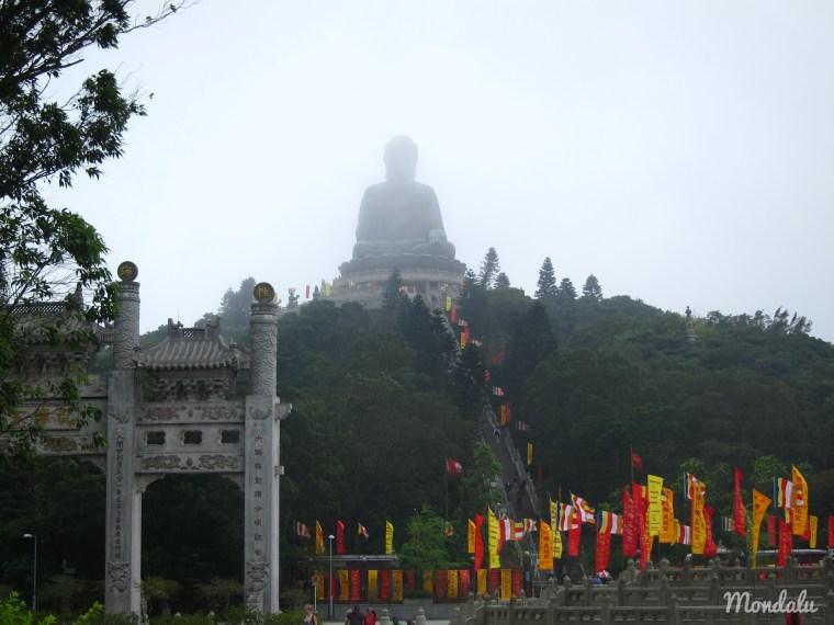 Tian Tan Buddha à Hong-Kong
