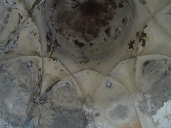 The ceiling of the minaret in Uzgen