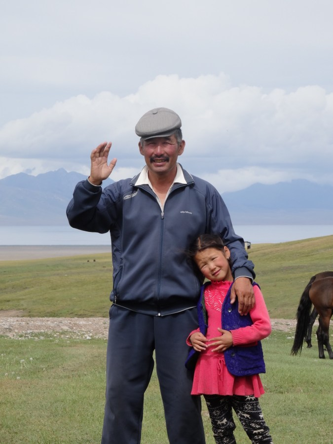Kyrgyz Man Wearing Kepka