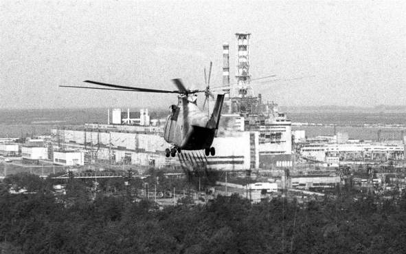 Chernobyl-Helicopter