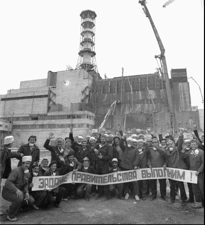 Chernobyl Liquidators Celebration