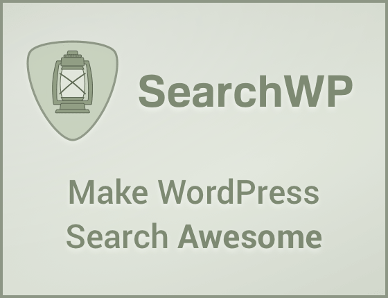 SearchWP - Make WordPress Search Awesome!