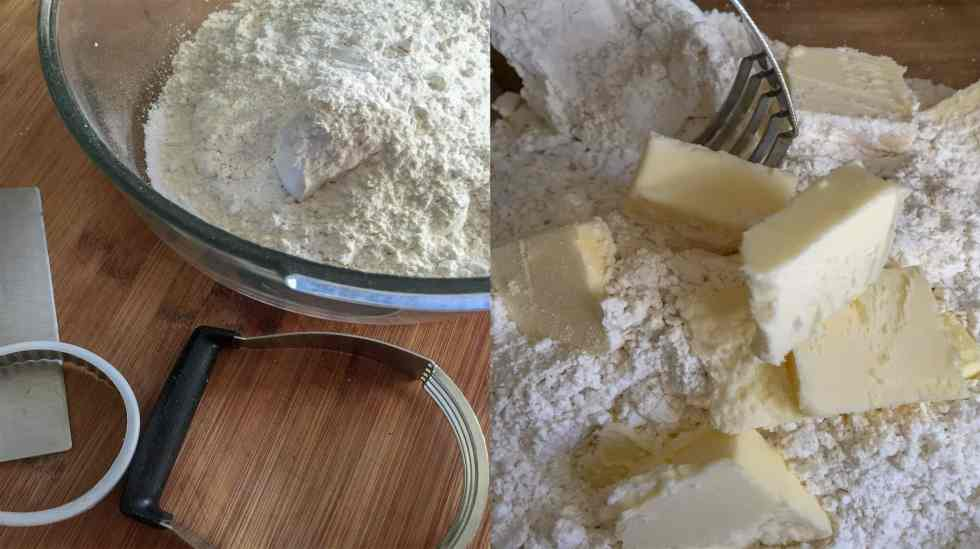 self-rising flour_butter