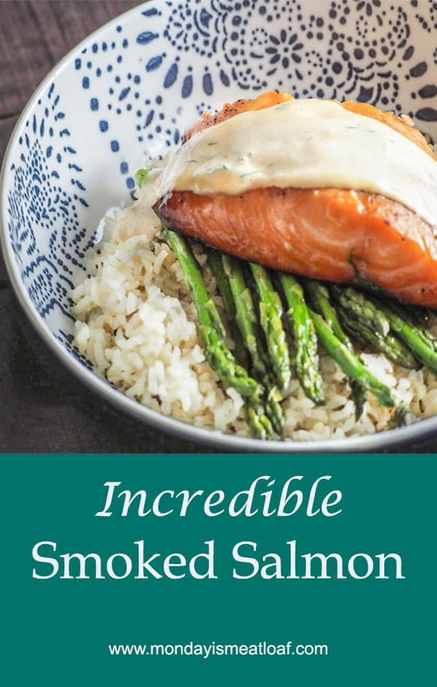 Incredible Healthy Smoked Salmon - I am always looking for new and innovative ways to prepare salmon. It's such a healthy fish and the family adores it! An easy summer meal that can be an exciting addition to your weekend or weeknight dinners or meal prep! Who am I kidding, any time of the year.